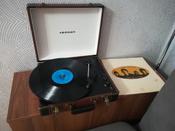 Проигрыватель виниловых дисков Crosley Executive Deluxe, коричневый, белый #10, Юлия Т.