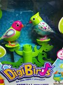 DigiFriends Интерактивная игрушка Птички на дереве цвет бирюзовый салатовый #6, Безкишная Татьяна
