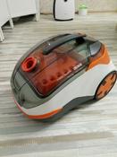 Бытовой пылесос Thomas DryBox + AquaBox Cat & Dog, оранжевый, белый #2, Анна Т.
