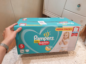 Pampers Pants Трусики 12-17 кг (размер 5) 96 шт #1, Мария С.