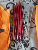 """Палатка 2-местная NOVA TOUR Nova Tour """"Ай Петри 2 V2"""", цвет: оранжевый. Арт.95414 #5, Илья С."""