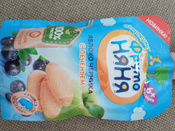 Фрутоняня пюре яблоко, черника печенье с 6 месяцев, 90 г #112, Роман