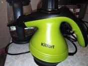 Пароочиститель Kitfort КТ-906, зеленый #13, Алёна Ф.