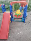 Happy Box JM-701 Детский игровой комплекс для дома и улицы: детская горка, баскетбольное кольцо с мячом, подвесные качели. #5, Юрий Алексеевич