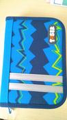 Tiger Family Пенал Nature Quest Collection с наполнением цвет синий #1, Ольга К.