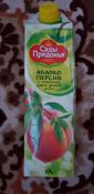 Сады Придонья Сок яблочно-персиковый с мякотью восстановленный, 1 л #161, Марина А.
