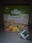 Ahmad Tea Citrus Sorbet зеленый чай в пирамидках, 20 шт #8, Корнеева Светлана Леонидовна