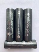 Зарядное устройство Panasonic Smart & Quick, K-KJ55HCD40E, для 1-4 аккумуляторов типа АА/ААА Ni-MH + батарейка типа АА, 2500 mAh, 4 шт #1, Andrey C.