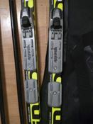 Комплект лыжный STC Set/NNN/Step с креплениями NNN и палками, 150 см #15, Галина Сафронова