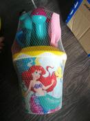 Disney Набор игрушек для песочницы Русалочка №4, 6 предметов, цвет в ассортименте #4, Черникова Наталья