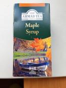 Ahmad Tea Maple Syrup зеленый чай в пакетиках, 25 шт #10, гуторова светлана