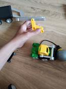"""Магнитный конструктор Bondibon Smartmax """"Специальный набор. Мощная техника"""", развивающая игра #2, Нина"""