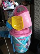 Disney Набор игрушек для песочницы Минни №12, 7 предметов, цвет в ассортименте #7, Марина Т.