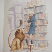 Лев в библиотеке   Кнудсен Мишель #6, Regina K.