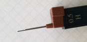 Faber-Castell Грифель для карандаша Superpolymer H 0,5 мм 12 шт #3, O.V.