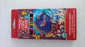 Акварельные карандаши шестигранные ArtBerry, с кисточкой, 12 цветов #13, Ольга У.