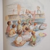 Лев в библиотеке   Кнудсен Мишель #9, Regina K.