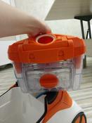 Бытовой пылесос Thomas DryBox + AquaBox Cat & Dog, оранжевый, белый #4, Анна Т.