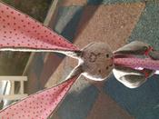Игрушка комфортер для новорожденных, Плюш серо-коричневый, Мякиши #11, Светлана Х.