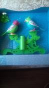 DigiFriends Интерактивная игрушка Птички на дереве цвет бирюзовый салатовый #4, Галина