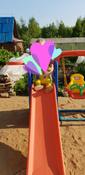 Happy Box JM-701 Детский игровой комплекс для дома и улицы: детская горка, баскетбольное кольцо с мячом, подвесные качели. #2, Эльвира Ш.