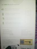 Bluetooth-гарнитура QCY MINI1, черный #1, Ню.Точка