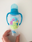 """ПОМА! Бутылочка для кормления с ручками 250мл. """"Мечта"""", 1 шт. 6+ #1, Анна М."""