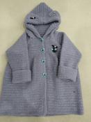 """Пряжа для вязания Alize """"Lanagold"""", цвет: серо-сиреневый (200), 240 м, 100 г, 5 шт #11, Екатерина Х."""