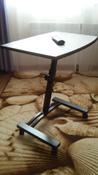 Столик/подставка для ноутбука UniStor на колёсиках, 60х40х84 см #7, Мария Т.