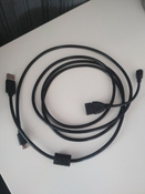 Кабель ATcom  USB (Am - micro USB), пакет, черный #11, Ярослав Т.