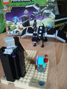 Конструктор LEGO Minecraft 21151 Последняя битва #10, Ольга