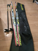 Комплект лыжный STC Set/NNN/Step с креплениями NNN и палками, 150 см #14, Галина Сафронова
