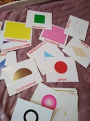 Обучающая игра Вундеркинд с пеленок Карточки Домана Форма и цвет #5, вика