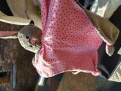 Игрушка комфортер для новорожденных, Плюш серо-коричневый, Мякиши #10, Светлана Х.
