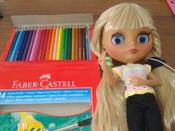 Акварельные карандаши COLOUR PENCILS с кисточкой, набор цветов,  в картонной коробке, 24 шт. #11, Елена К.