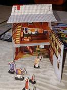 Умная бумага Сборный домик-раскраска Таверна #6, Татьяна Грин