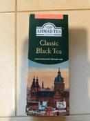 Ahmad Tea Classic черный чай в пакетиках, 25 шт #15, Ирина