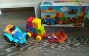 LEGO DUPLO Конструктор Мой первый трактор 10615 #5, Наталья