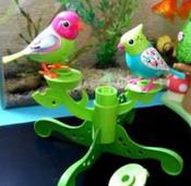 DigiFriends Интерактивная игрушка Птички на дереве цвет бирюзовый салатовый #7, Анна