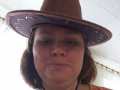 """Маскарадная шляпа """"Ковбой"""", цвет: коричневый. 31335 #6, Инга"""