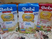 Bebi Премиум каша рисовая с бананами молочная, с 6 месяцев, 250 г #8, Лариса к.