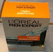 """L'Oreal Paris Men Expert Лосьон после бритья """"Гидра Энергетик, Ледяной эффект"""", увлажняющий, восстанавливающий, 100 мл #6, Елена"""