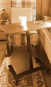 Столик/подставка для ноутбука UniStor на колёсиках, 60х40х84 см #14, Кипнис Леонид