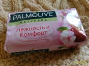 """Palmolive Мыло туалетное Натурэль """"Нежность и комфорт"""", с экстрактом цветка вишни, 90 г #15, Екатерина"""