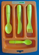 Полесье Набор игрушечной посуды Алиса 40701, цвет в ассортименте #2, Алина