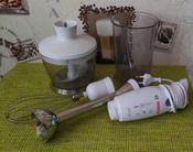 Погружной блендер Bosch MSM 6B700, белый #2, Мария