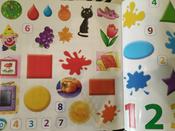 Учу цифры, формы и цвета (+ наклейки) | Писарева Елена Александровна #6, Инна