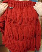 """Пряжа для вязания Alize """"Lanagold"""", цвет: красный (56), 240 м, 100 г, 5 шт #15, Дарья П."""