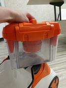 Бытовой пылесос Thomas DryBox + AquaBox Cat & Dog, оранжевый, белый #3, Анна Т.