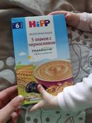 Hipp каша молочная 5 злаков со сливой и пребиотиками, с 6 месяцев, 250 г #15, Юлия К.
